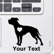 Personalized American Bulldog Decal