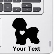 Personalized Bichon Decal