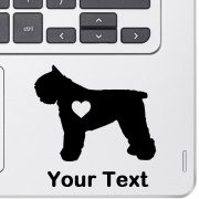 Personalized Bouvier Decal
