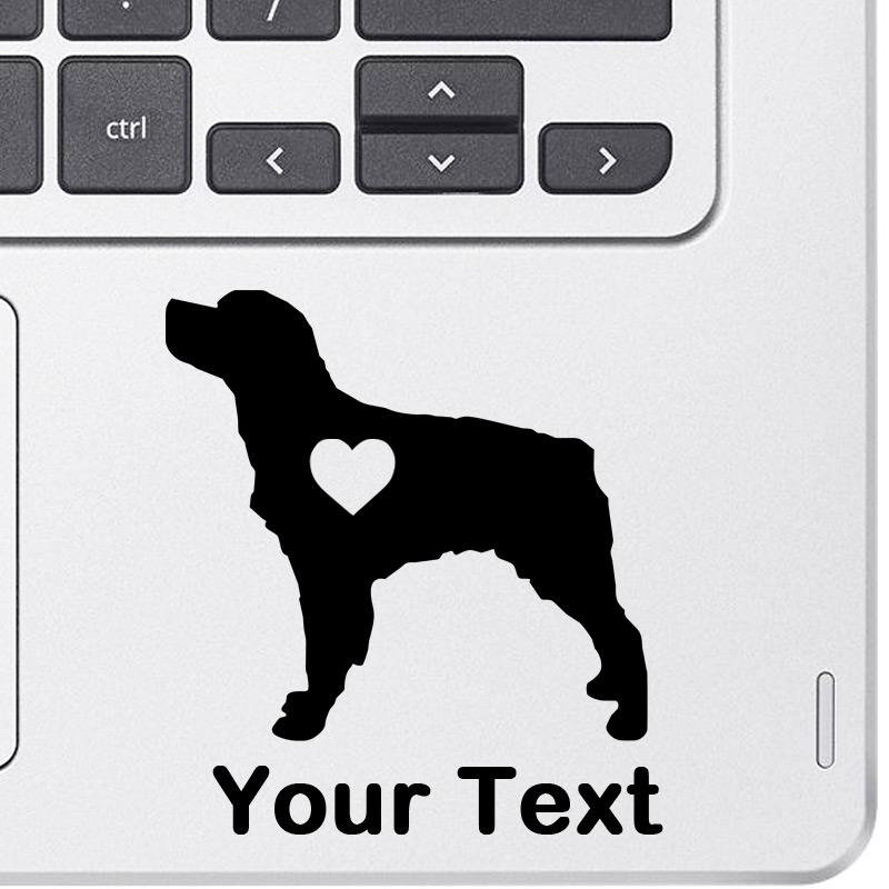Personalized Brittany Spaniel Decal