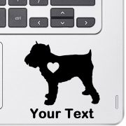 Personalized Brussels Griffon Decal