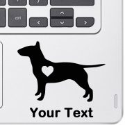 Personalized Bull Terrier Decal