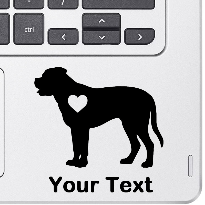 Personalized Bullmastiff Decal