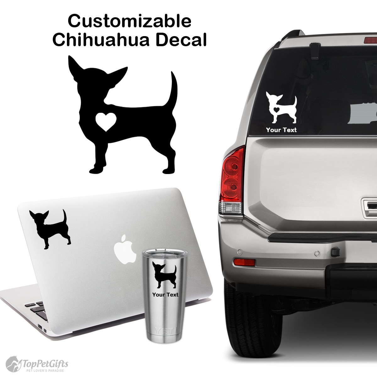 Personalized Chihuahua Decal