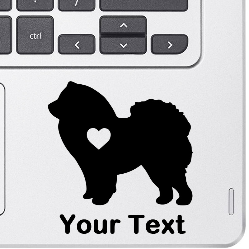 Personalized Chow Chow Decal