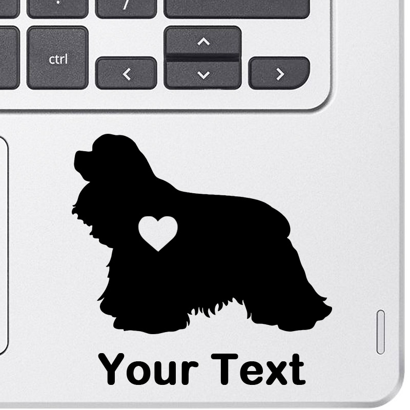 Personalized Cocker Spaniel Decal