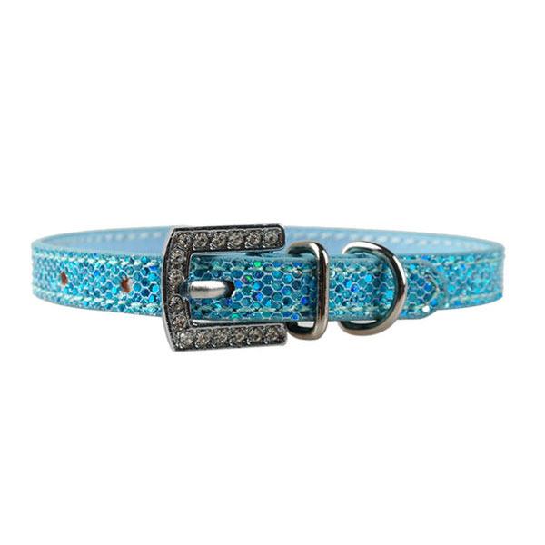 Personalized Rhinestone Charm Collar