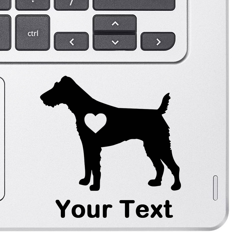Personalized Fox Terrier Decal