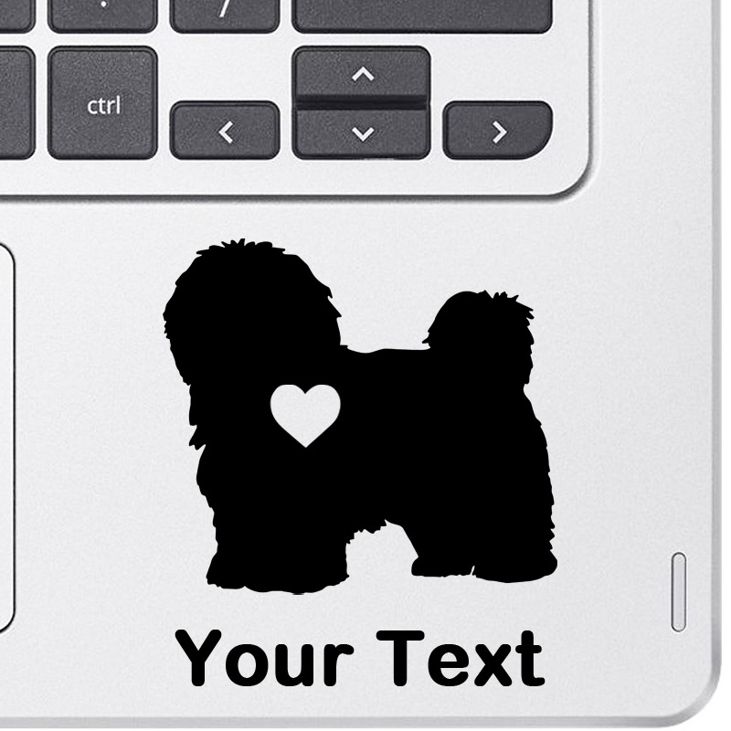 Personalized Havanese Decal
