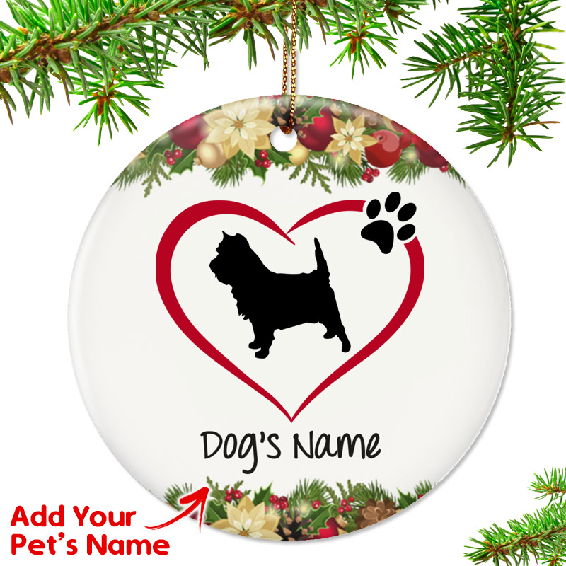 - I Love My Cairn Terrier Ornament - Top Pet Gifts
