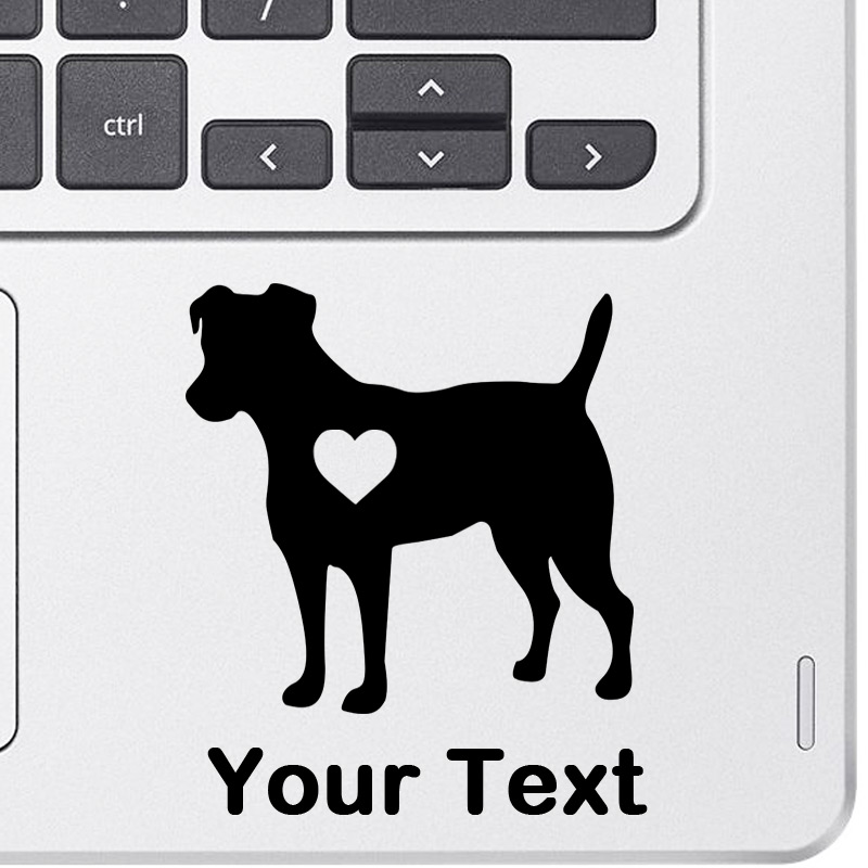 Personalized Jack Russel Terrier Decal