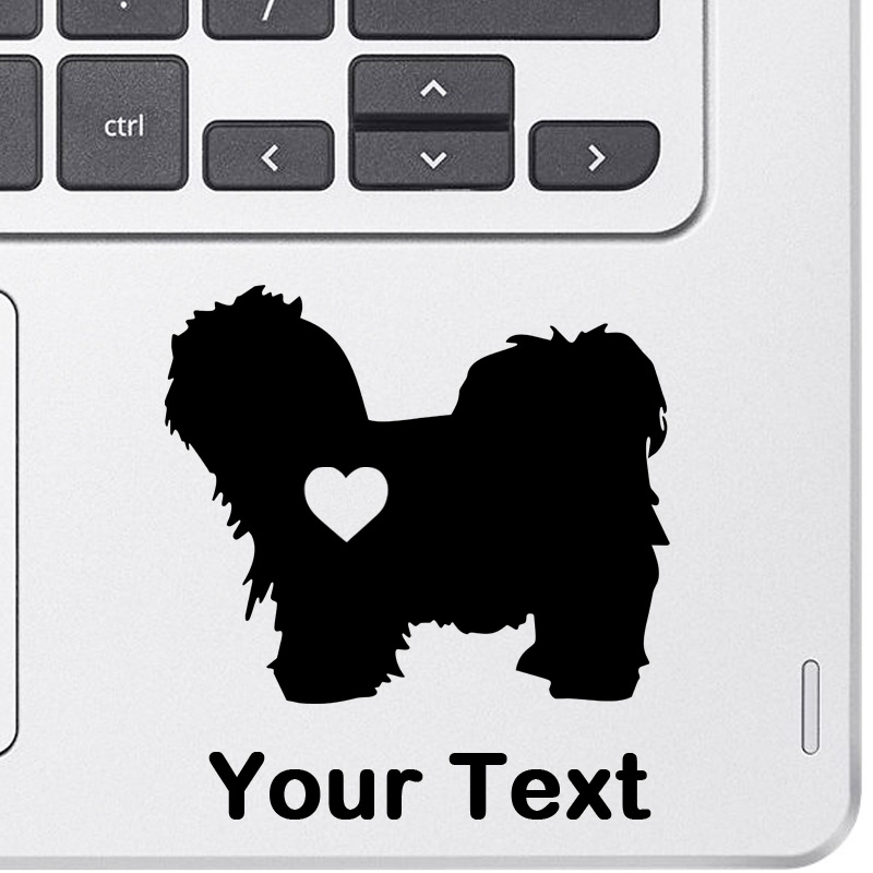 Personalized Maltipoo Decal