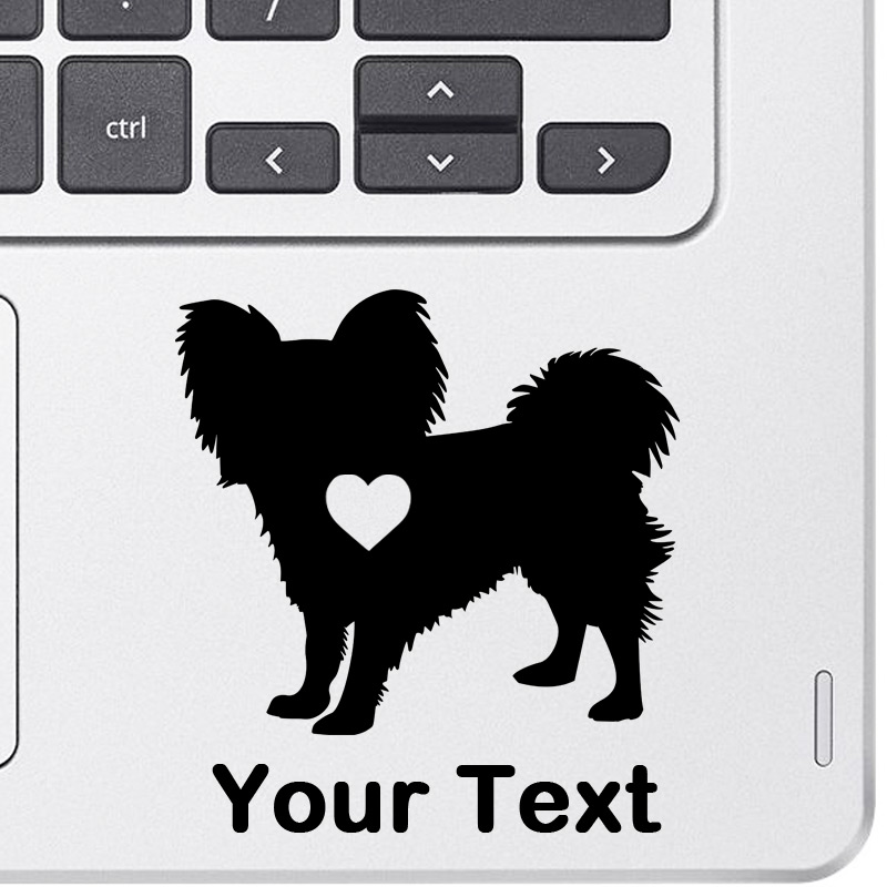 Personalized Papillon Decal