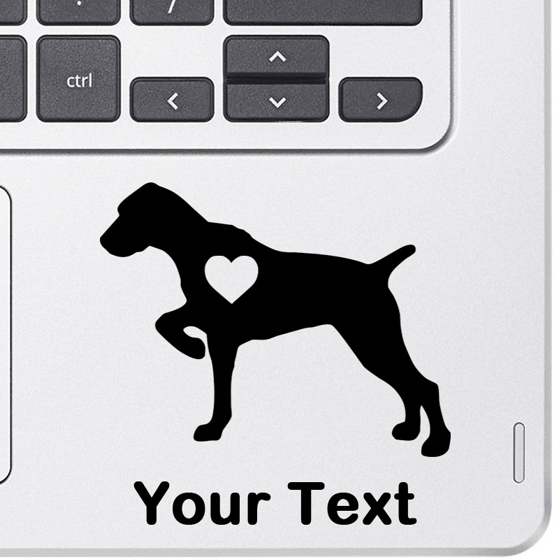 Personalized Pointer Decal