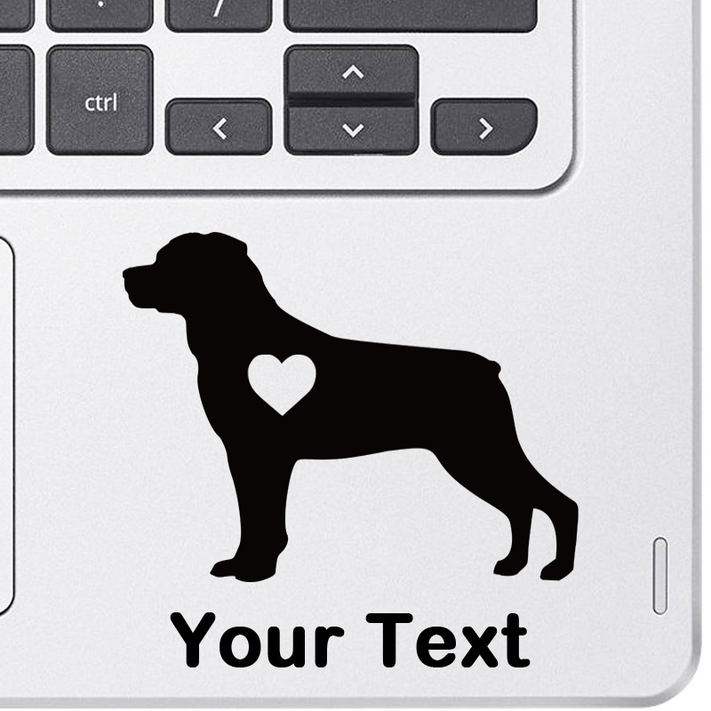 Personalized Rottweiler Decal