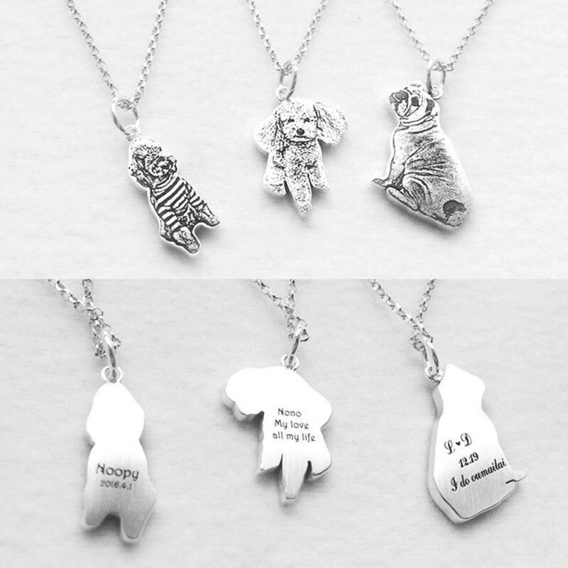 Personalized Silver Necklace