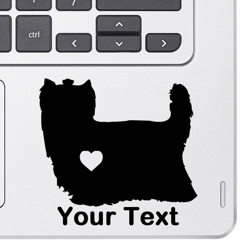 Personalized Yorkshire Terrier Decal