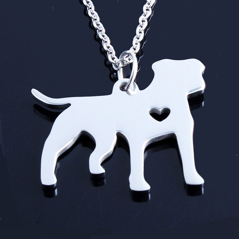 Pit Bull Stainless Steel Necklace