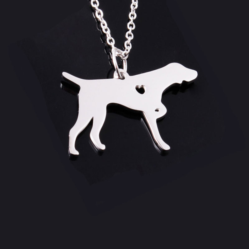 Pointer Stainless Steel Necklace