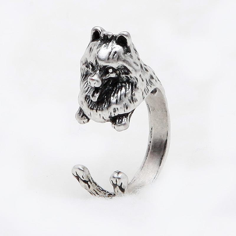 Pomeranian Adjustable Wrap Ring