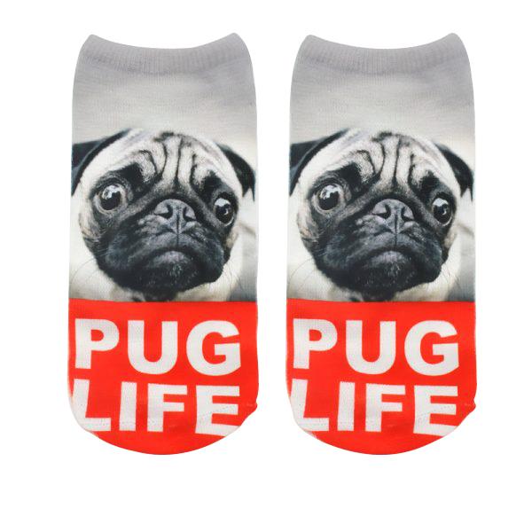 Pug Socks - Pug Life