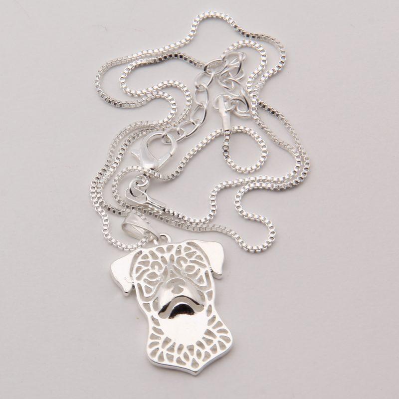 Rottweiler Boho Cutout Necklace