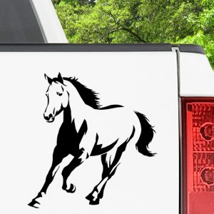 Running Horse Decal