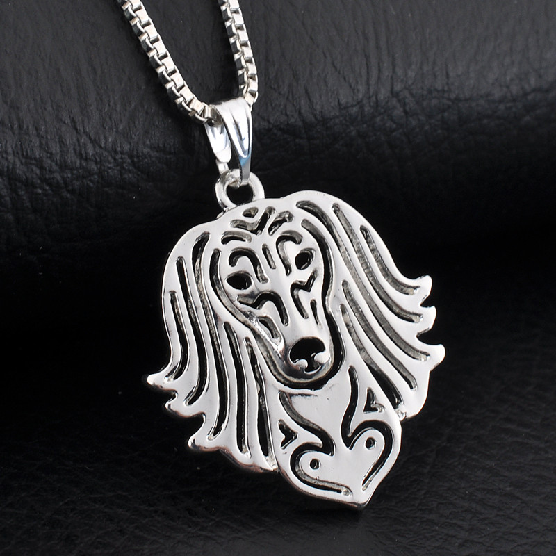 Saluki Boho Cutout Necklace