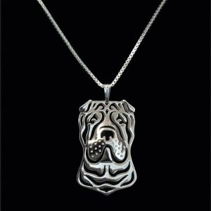 Shar Pei Boho Cutout Necklace