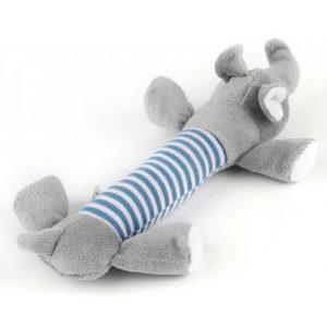 Squeaky Plush Dog Toy - Elephant