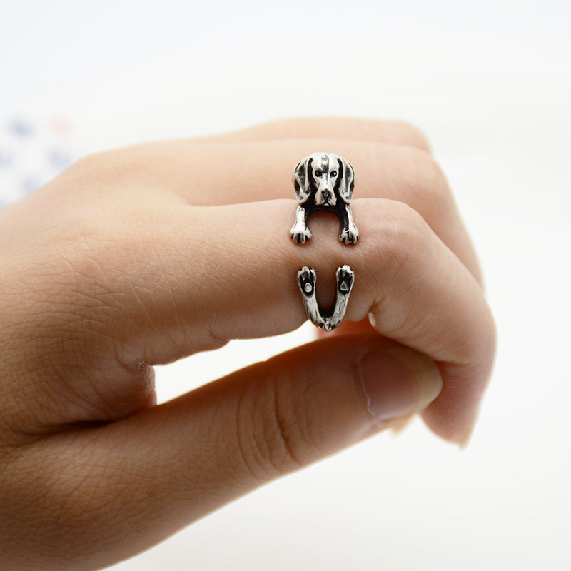 Beagle Adjustable Wrap Ring