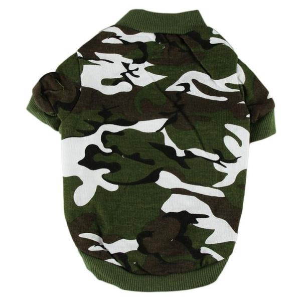 Dog Tshirt - Camouflage