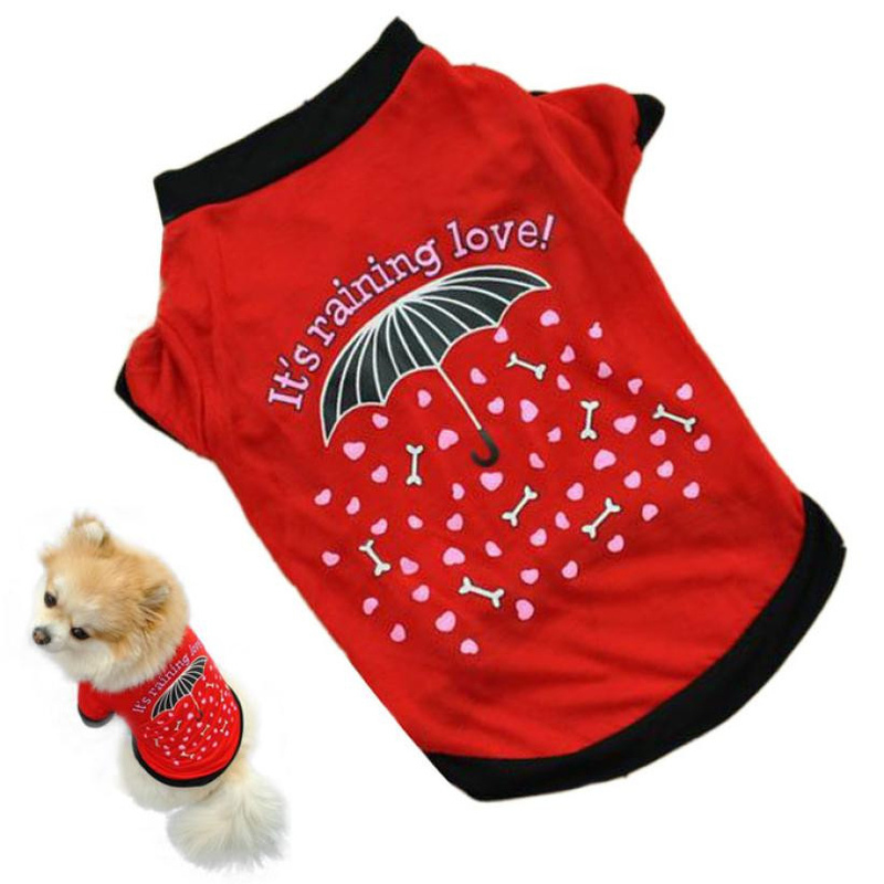 Dog Tshirt - It's Raining Love!