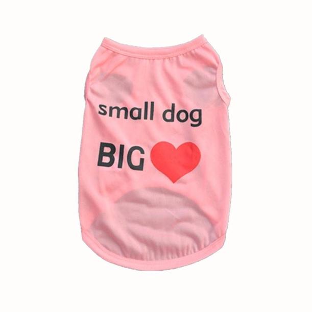 Dog Tshirt - Small Dog Big Heart