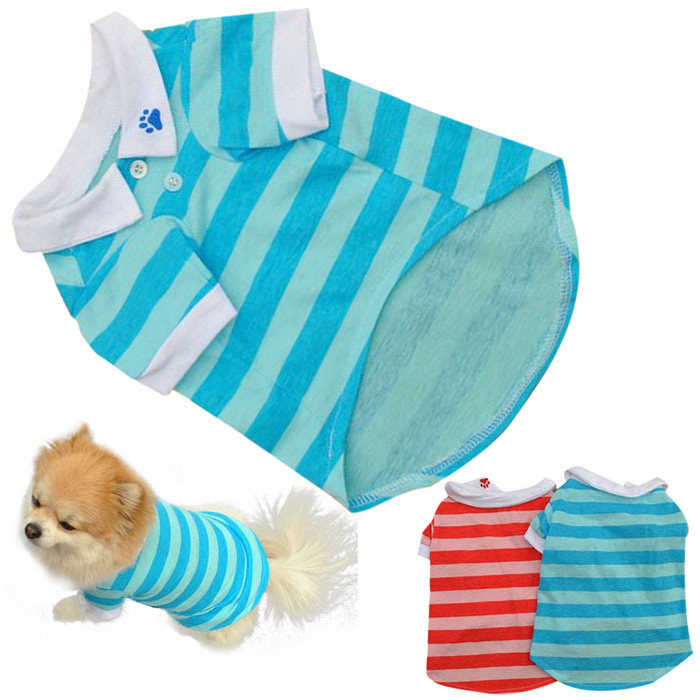 Dog Tshirt - Stripes