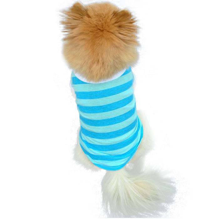 Dog Tshirt - Stripes