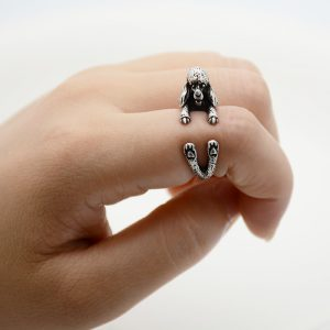 French Poodle Adjustable Wrap Ring