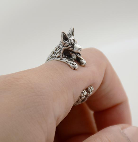 German Shepherd Adjustable Wrap Ring