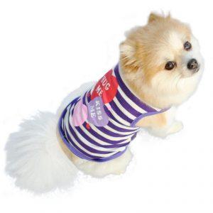 Dog Tshirt - Hug Me Kiss Me Love Me