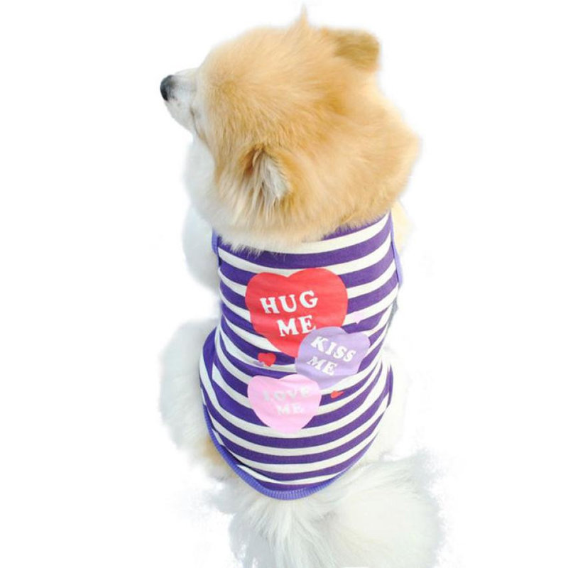 Dog Tshirt - Hug Me Kiss Me Love Me