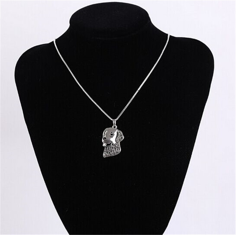 Labrador Retriever hollow necklace
