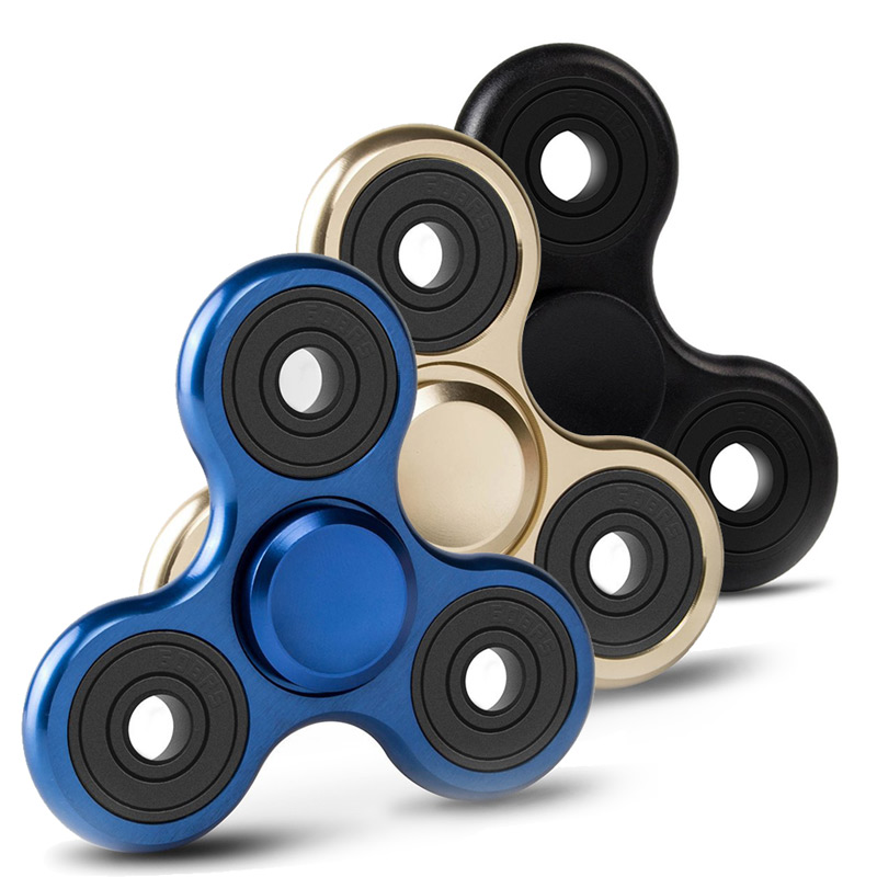 Metal Tri Fidget Spinner