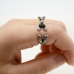 Schnauzer Adjustable Wrap Ring