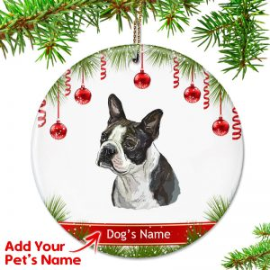 related products - Boston Terrier Outdoor Christmas Decoration