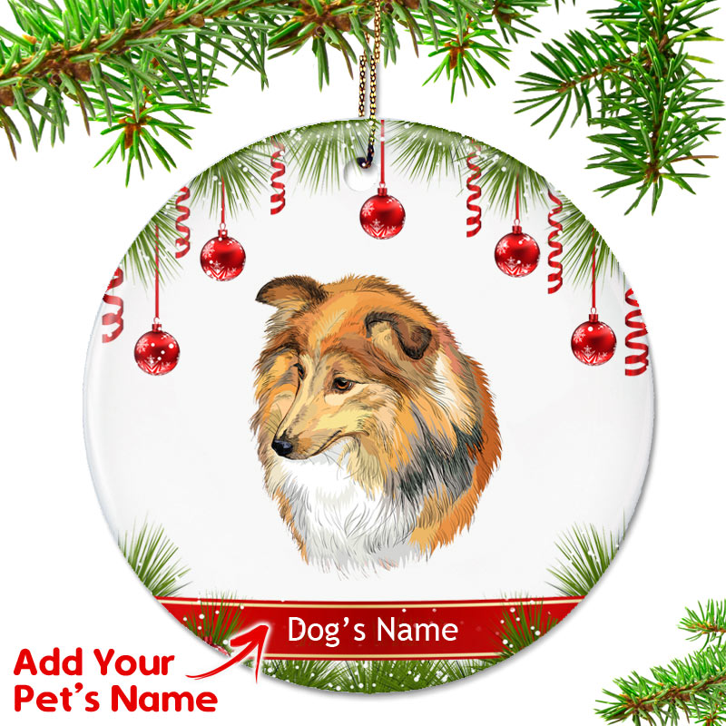 - Personalized Sheltie Ornament - Top Pet Gifts