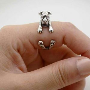 Pit bull wrap ring